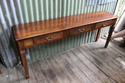A Long Rustic Console Table 1.8m - Ideal for Narrow Hallway - Hall Table