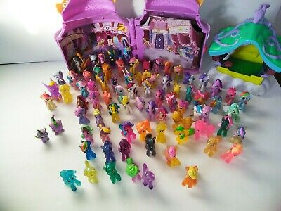 My little pony mini figure lot