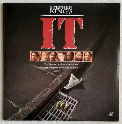 Stephen King's IT -  Laserdisc - Warner 12198 - 2 Disc - Fine