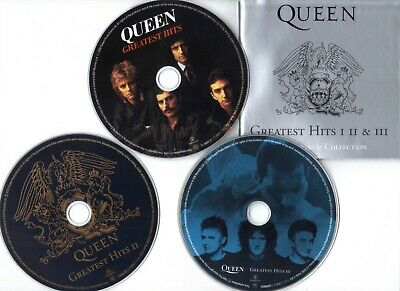Queen - Greatest Hits 1,2 & 3 - The Platinum Collection (3 CD - Fat Case) (2000)