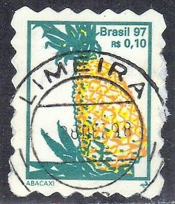 Brazil Sc #2634 **Used**  Pineapple  1997-99  See Scan