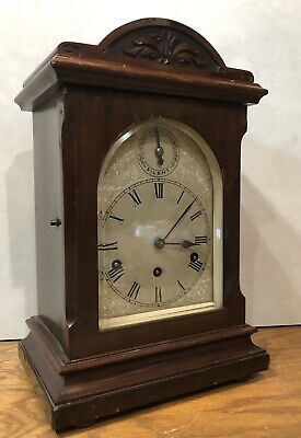 HAC German Black Forest Bracket Mantel Westminster Chime Clock