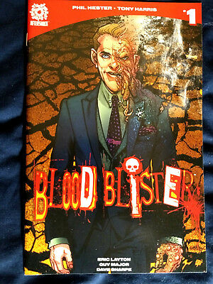Blood Blister #1 2017 Aftershock Comics NM Hester Harris Layton First Print
