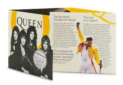 Queen £5 Royal Mint Coin Official BU Five Pound Bohemian Rhapsody Collectable **