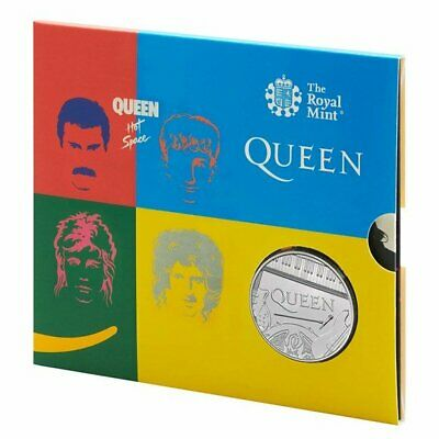 Queen £5 Royal Mint Coin Official BU Five Pound  HOT SPACE  PRESENTATION PACK **