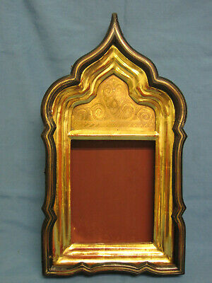 Antique Orthodox Icon. Russian Kiot. Frame Box. Shadow Box for Orthodox Icon.