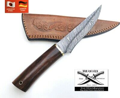 Handmade custom Damascus Forged  KNIFE With Crafted 11 Approx
