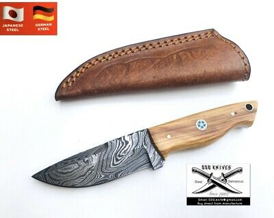 Handmade custom Damascus Forged  SKINER KNIFE With Crafted 7 Inches Approx