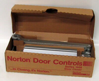 Vintage NORTON Model 1603H Door Closer with Hold Open Size 3 NOS/NEW CONDITION