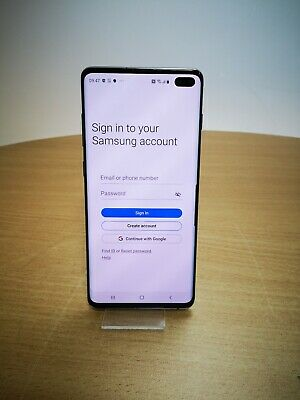Samsung Galaxy S10+ - 128GB - Prism Black - Unlocked - Dual SIM