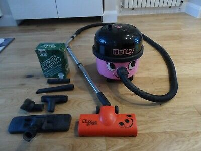 Two speed Numatic 'Hetty' vacuum cleaner 1200 W max (as 'Henry' except pink)