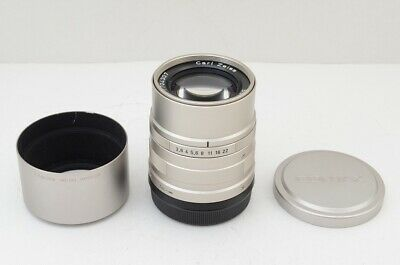 CONTAX Carl Zeiss Sonnar T* 90mm F2.8 AF G Lens for Contax G1 G2 Mount #191209h