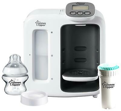 Tommee Tippee Perfect Prep Day & Night Bottle Warmer & Steriliser White