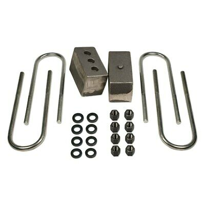 """For Chevy V1500 Suburban 89-91 5.5/"""" Tapered Rear Lifted Blocks /& U-Bolts"""