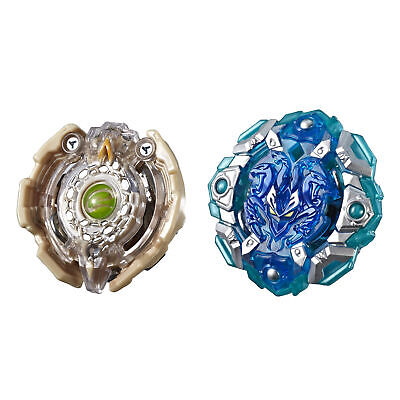 Beyblade Burst Turbo Slingshock Dual Pack Engaard E4 and Stone-X Quetziko Q4