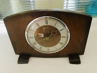 Smiths 30-Hour Timepiece - Mantel Clock - Working