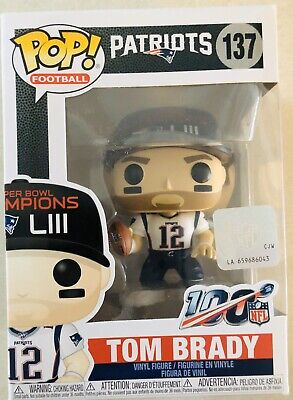 Funko POP! NFL #137 Tom Brady Super Bowl LIII New England Patriots Football