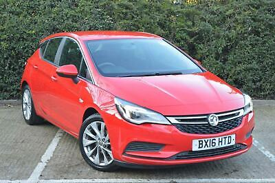 2016 Vauxhall Astra 1.0i Turbo ecoFLEX Design s s 5dr Hatchback Petrol Manual