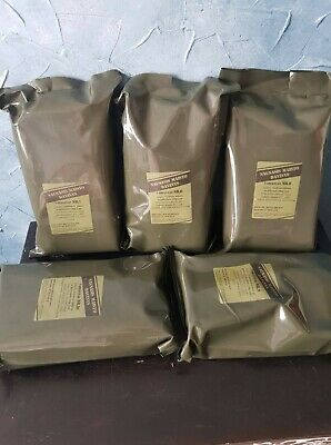 UK ENGLAND EPA MRE PATROL COMBAT RATION ARMY  FOOD NOTRATION ARMEE ESSEN CAMPING