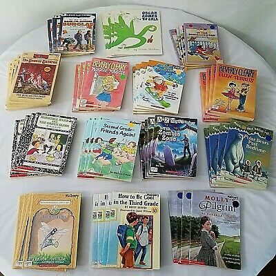 Lot of 56 Childrens Books Multiple Copies 4 Each 14 Titles Class Library Reading