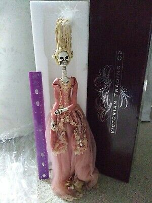 Victorian Trading Co Victorian Marie Antoinette Skeleton NWB