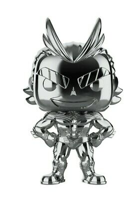 Funko Pop! Funimation Exclusive : Silver Chrome All Might preorder