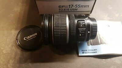 CANON LENS EF-S 17-55mm f/2.8 IS USM ULTRASONIC OBIETTIVO efs 17 55