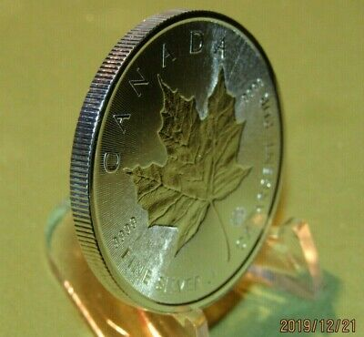 1 OZ 2018 Maple Leaf  Incuse Canada 9999 Silver  Special Edition