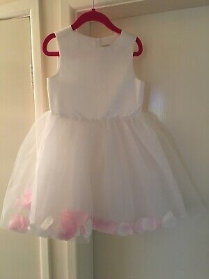 BNWOT Beautiful V By Very Girls Party Bridesmaid Dress Age 3-4