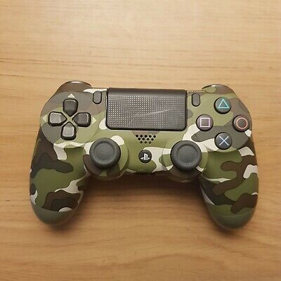 Sony DualShock 4 Wireless Controller - Green Camo for PlayStation 4