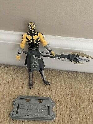 Hasbro Star Wars Clone Wars Animated Savage Opress Action Figure without box