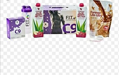FOREVER C9 Aloe Berry Nectar - Chocolate/ Weight Loss Kit/ Brand New/ SEALED