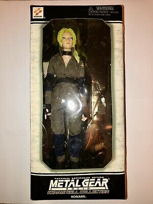 Konami Metal Gear Solid Collection, Sniper Wolf Action Figure, NRFB (Rare)