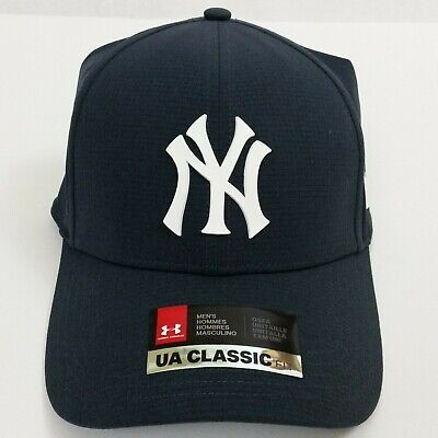 Under Armour New York Yankees CoolSwitch Hat Velcro Back Blue