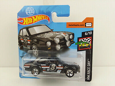 ford escor rs1600 1970 negro fyd79 1//64 Hot Wheels Race Day 2019 6//10