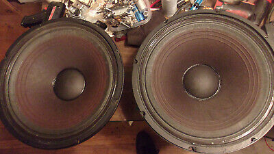 """2 Electro Voice DL15ST 400 WATT 15"""" Woofer TESTED WORKING No Issues 4 Ohms"""