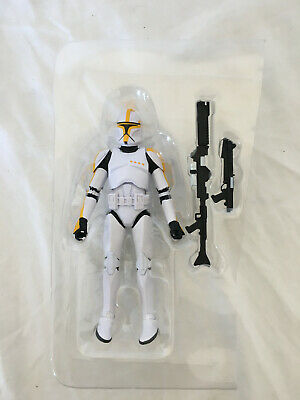Star Wars Black Series 6 Inch Exclusive Phase 1 Clone Trooper Commander New