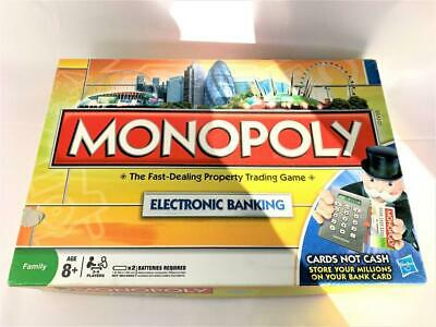 Monopoly Electronic Banking - Hasbro Board Game - Complete - Free UK Delivery