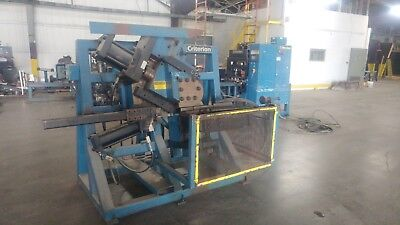 Criterion Hydraulic Tube Pipe Bender Punch/Drill Stations