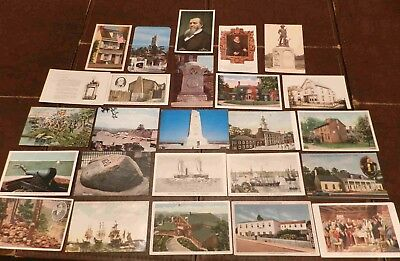 Lot of 25 Postcards (Lot 329) USA Historical