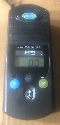 Hach Pocket Colorimeter II 655 nm Absorbence