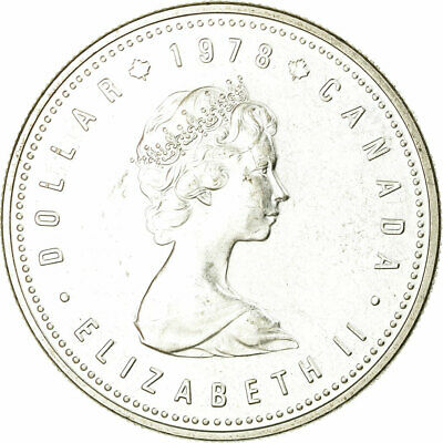 [#657981] Münze, Kanada, Elizabeth II, Dollar, 1978, Royal Canadian Mint