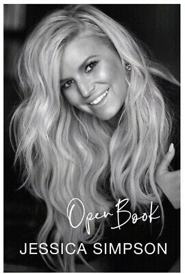 Open Book by Jessica Simpson  – Hardcover-NEW. (Pre-order)