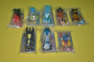 Disney Wild Racers Lot of 8 Prototypes In Package 2001 Lion King Mickey Lilo