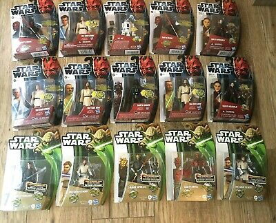 Star Wars Movie Heroes, Clone Wars Mixed Lot Of 15