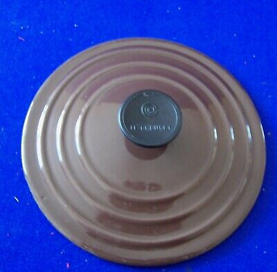 Vintage cast iron Le Creuset B saucepan lid only brown made in France