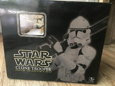 Star Wars Clone Trooper Bust Gentle Giant Collectible