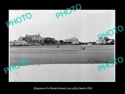 OLD LARGE HISTORIC PHOTO OF BETTYSTOWN MEATH IRELAND, VIEW OF THE STRAND c1910 1