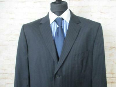 """Mens Suit Single-Breasted Marks & Spencer 46"""" Chest 32"""" Waist / Ref 0132"""