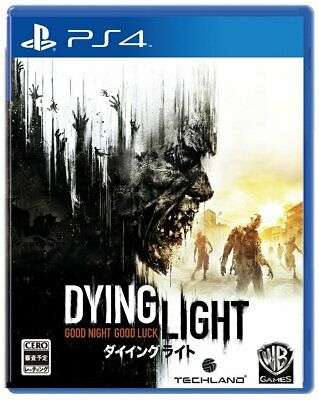 Dying Light PS4 Warner Sony Plalystation 4 From Japan